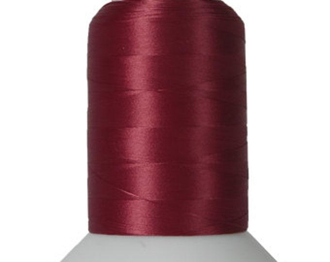 Thread Art - Wooly Nylon Thread - 1000m Spools - Cabernet  - SKU:THWL9217