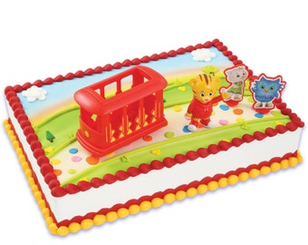 Daniel Tiger's Neighborhood Cake Topper