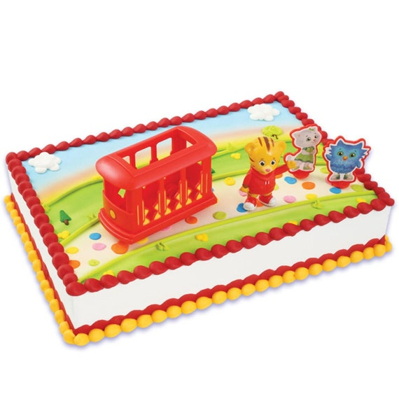 Daniel Tiger Cake Decorations