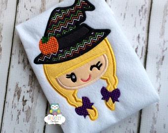 Girl Witch Halloween Shirt or Bodysuit, Halloween Shirt, Trick or Treat, Witch Shirt, Hocus Pocus