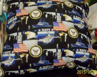 U.S. NAVY Pillow! - Show Your Miliitary Pride! - Unique!