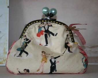 Cosmetic Bag - Make Up Bag - Weekend Cosmetic Bag - Jewellery Bag - Vintage Bag - lolita Bag