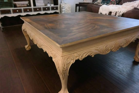 Sold French Provincial Coffee Table Drexel Heritage By Seamgarden