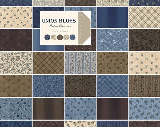 Union Blues - Mini Charms