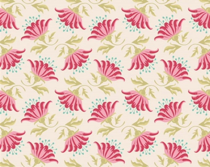 TILDA - Painted Lily Pink - 1/2 yard