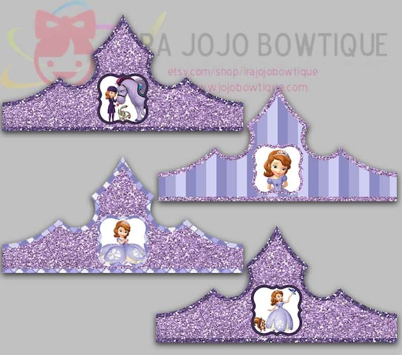 sofia the first crown template - sofia the first crown template images