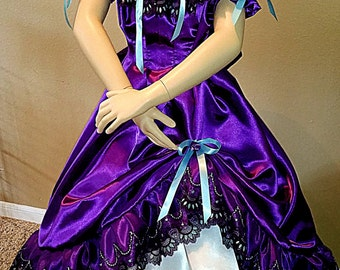 Southern Belle Gone With The Wind Girls Civil War Ball Gown 8, 10, 12