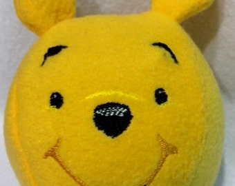 Embroidered Winnie the Pooh Fleece Ball
