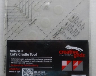 Creative Grids Cat's Cradle Tool 7in x 7in, Non-Slip~Quilt Creative Grids, , Fast Shipping, TR126