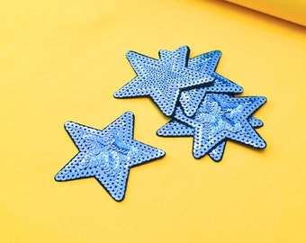 Patch star turquoise