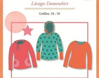 Mialuna pattern sweater 'Lady Rose'