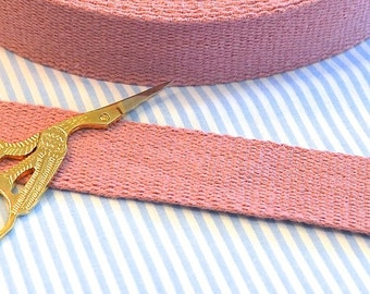 Cotton belt 3 cm old rose