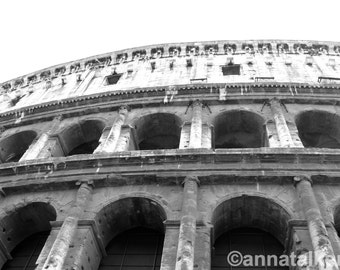 Rome Colosseum Photograph