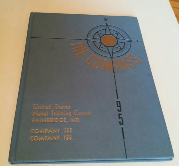 63fd7b7e ... Year 1951: United States Navy 1951 The Compass Year By  MyOldSoulTreasures