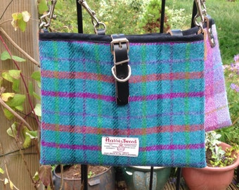 Harris Tweed iPad cross-body bag - checks and tartan, bag, iPad cover, cross-body, tablet cover
