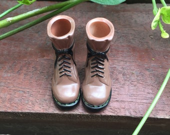 Martin boots for blythe/licca/azone/jerryberry/momoko  ---coffee