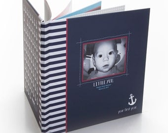 Custom Baby Book, Personalize All 32 Pages + Cover! Custom Designed Book - Baby Book, Photo Book, Life Book