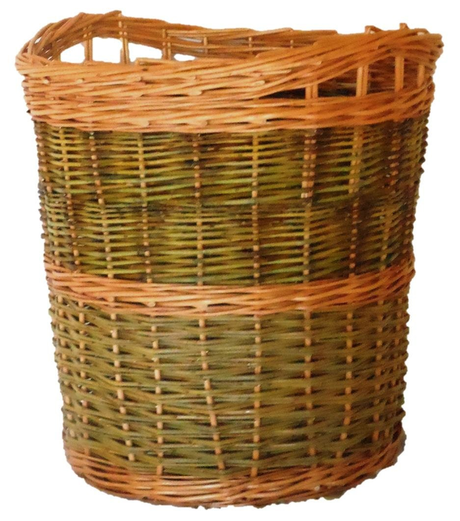Basket Weaving Supplies And Kits : Make this willow log basket a weaving kit fro beginners