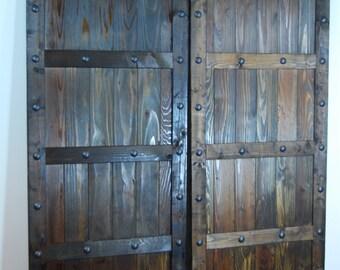 Rustic Cedar Barn Door