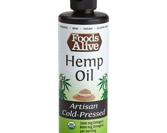 Organic Hemp Oil - 8oz