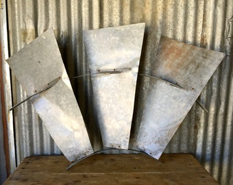 Vintage Windmill / Original windmill blade / Farmhouse / 3 Piece Section