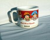 Vintage Campbell Soup Mug,west bend thermo,souvenir cup