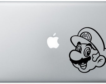 Mario Laptop Decal
