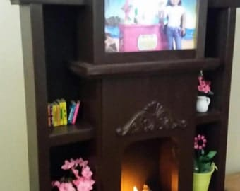 In stock.American Girl doll sized entertainment center