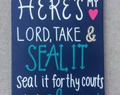 Come Thou Fount of Every Blessing Canvas