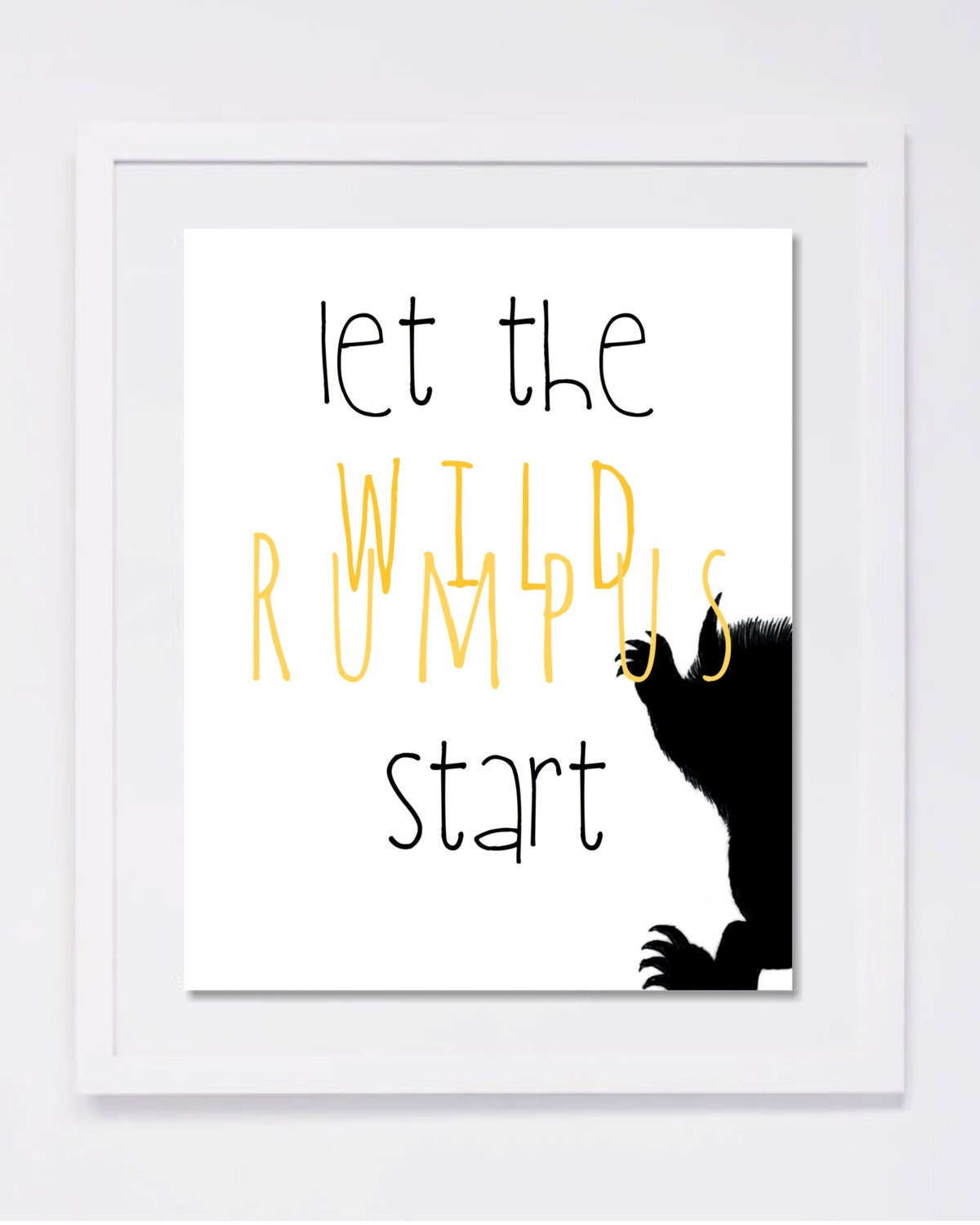 Decisive image within let the wild rumpus start printable