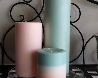 Mix 'n Match Round Soy Pillar Candle Set