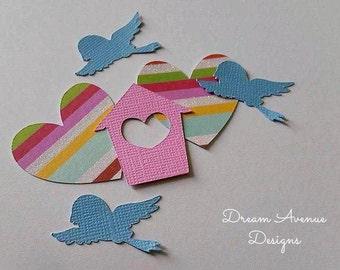 Flew Home for Love Confetti