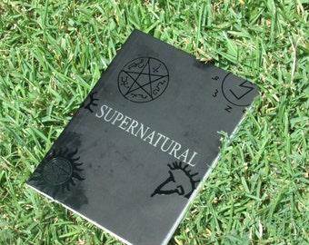 supernatural signs and sigils notebook