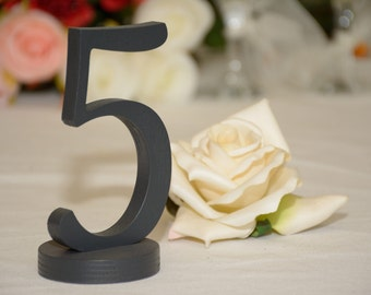 Wedding table decoration Wooden Table Numbers. Wedding reception decor. Wedding signs - table number