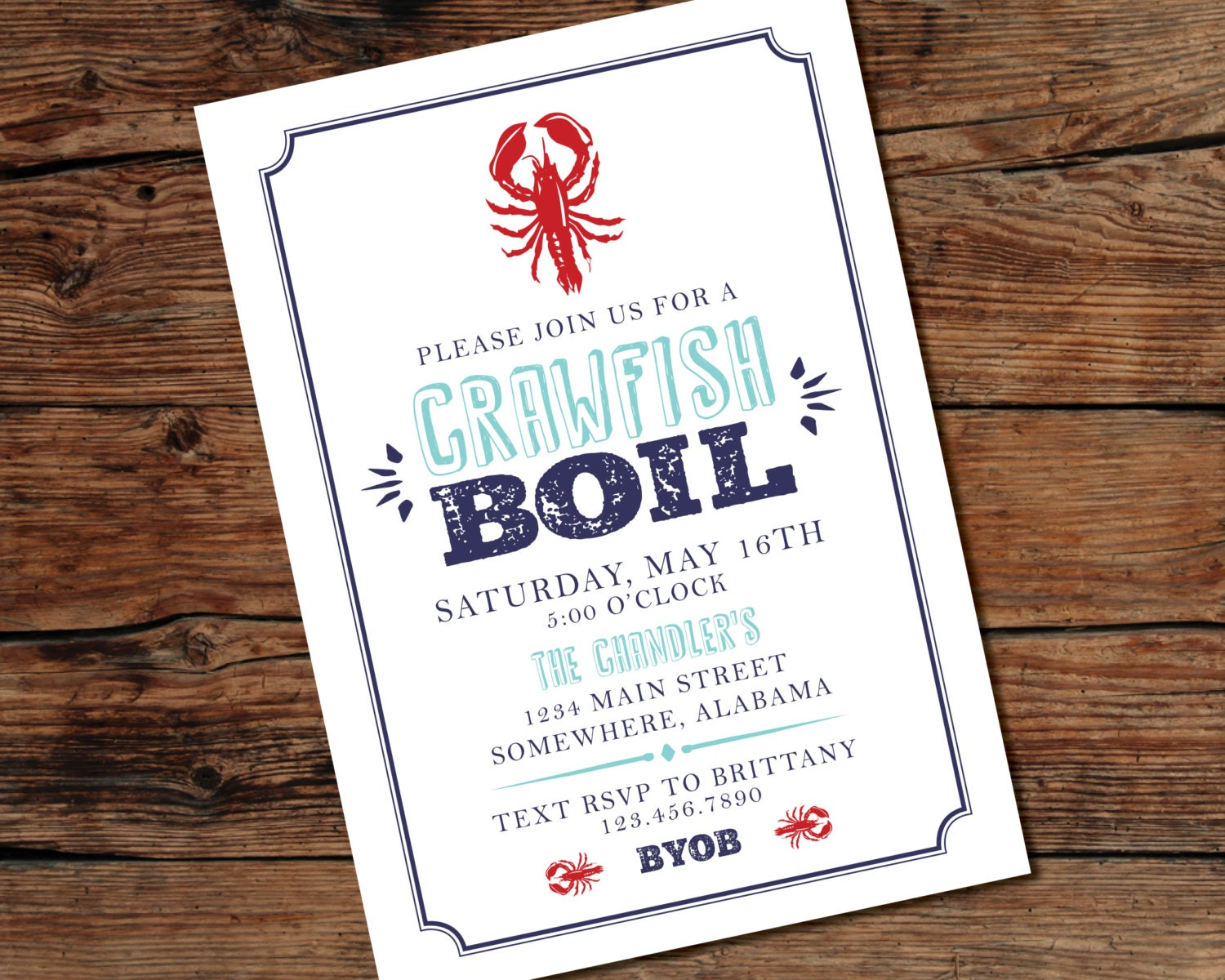Mesmerizing image regarding crawfish boil invitations free printable