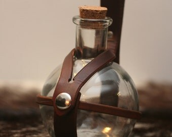 Made to Order---Leather Potion Bottle Holder