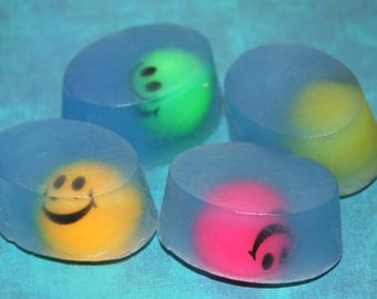 Smiley Face Bouncy Ball All Natural Soaps
