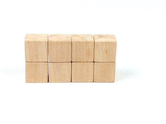 1 1 2 inch wooden blocks unfinished wooden cubes wood. Black Bedroom Furniture Sets. Home Design Ideas