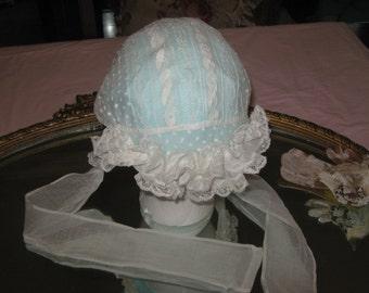 Vintage Baby Bonnet.