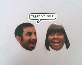 Treat Yo Self Sticker Set