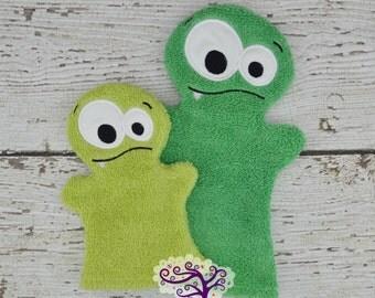 Monster Bath Buddy Hand Puppet
