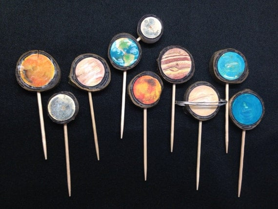 planets cake toppers-#4