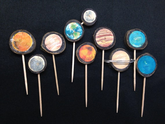 solar system cake toppers - photo #1