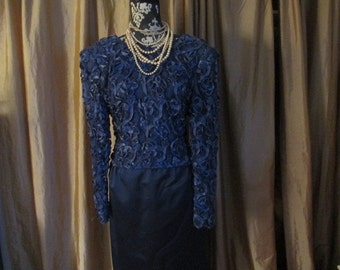 Vintage Carolina Herrera Dinner Dress