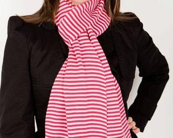 Pink Scarf, Designer Scarf, Pink Scarf, Stripe Scarf, Ladies Fashion, Ladies Scarf, Women's Scarf, Fashion Accessories, Winter, Fall, 118