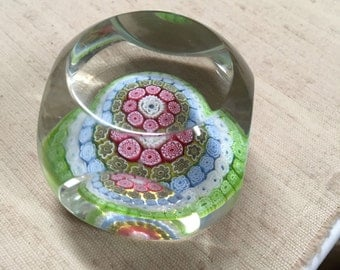 Glass Paperweight - Unmarked But Very Well Made