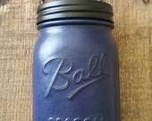 Country Living Vintage Navy Blue Soap Dispenser