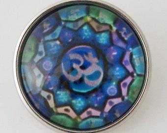 KB2857-N Art Glass Print Chunk
