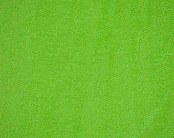 Terry Cloth in Lime 10oz by Shannon Fabrics