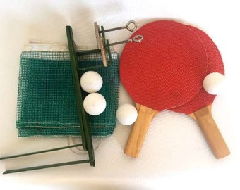 Vintage Table Tennis Set